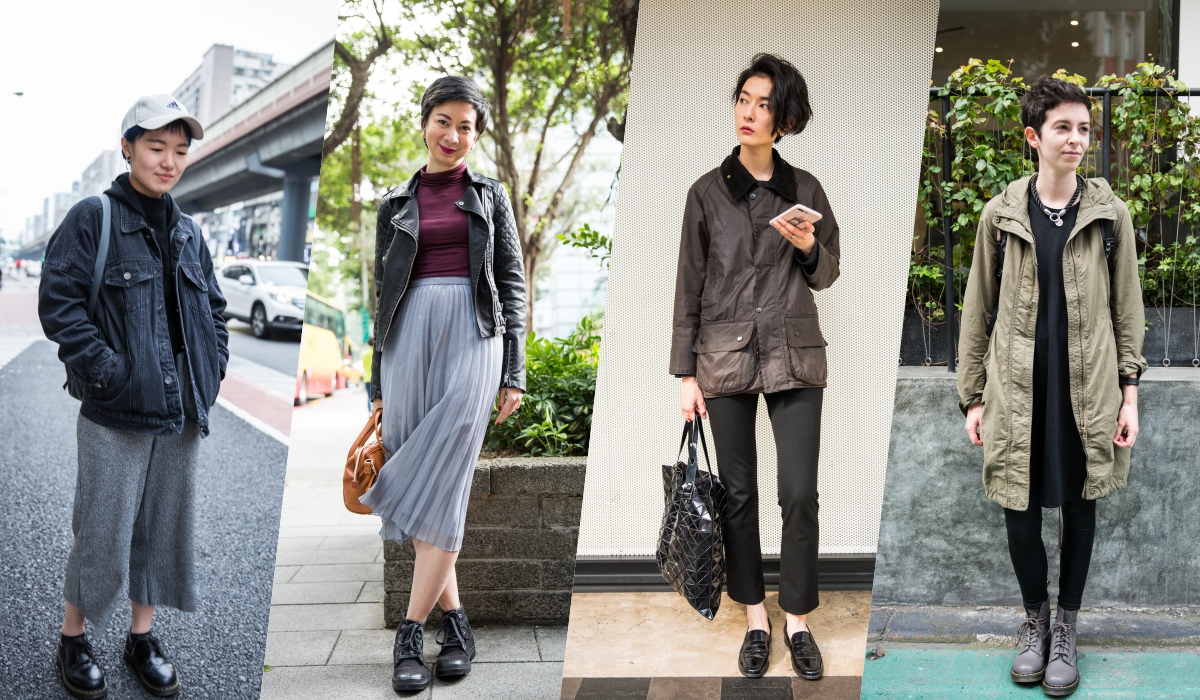 [Plan] FFLives street fashion 2017, girls with short hair redefine fashion