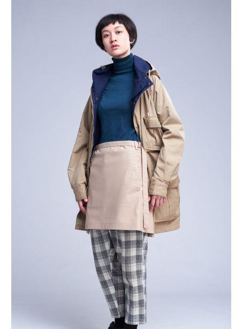 rin 城市圍裙CUB - 卡其色全棉防潑水半身工作服