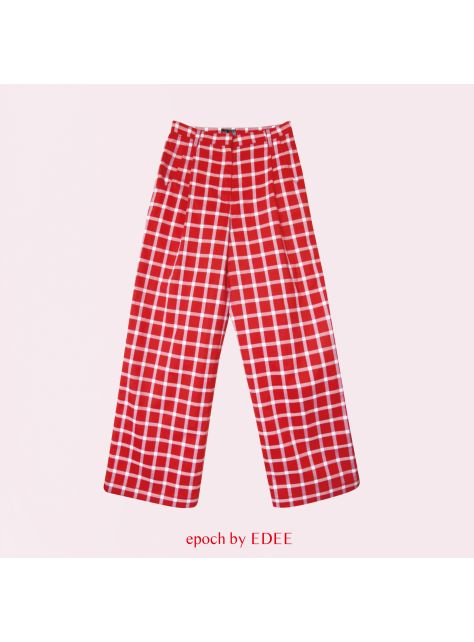 好玩的格紋褲子 YOUR FUNNY PLAID PANTS