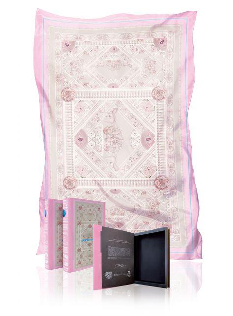 Dauphine- 雪紡絲印花絲巾