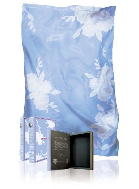Orchid Cameo- 雪紡絲印花絲巾