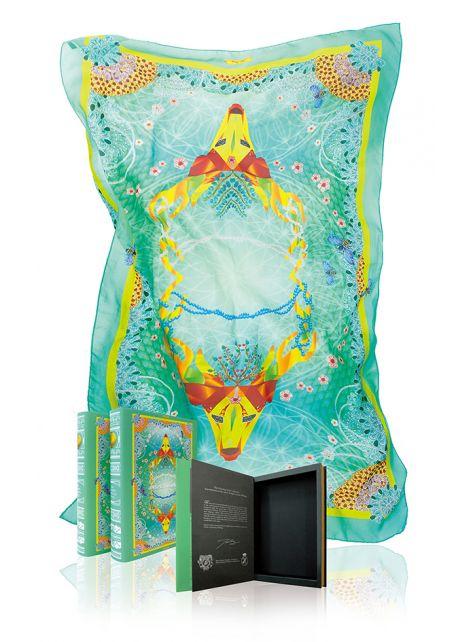 Sika Glade- 雪紡絲印花絲巾