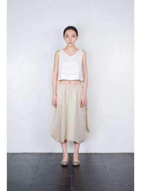 幾何圓弧造型裙