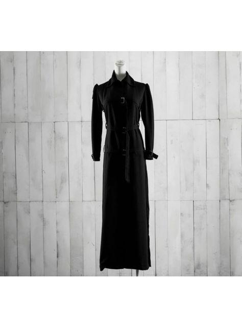 綁帶長洋裝