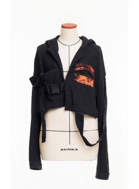魏如昀同款棉質外套