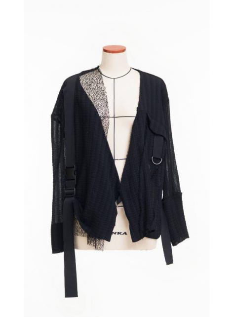 黑色雙層小外套