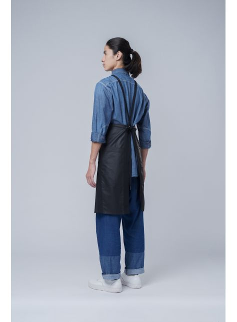 rin 城市圍裙ACE - 黑色全棉防潑水職人工作服