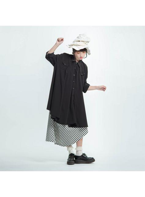 口袋傘形襯衫