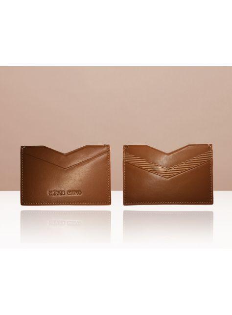 NEVER MIND-card holder 個性名片卡夾-牛皮-ARROW