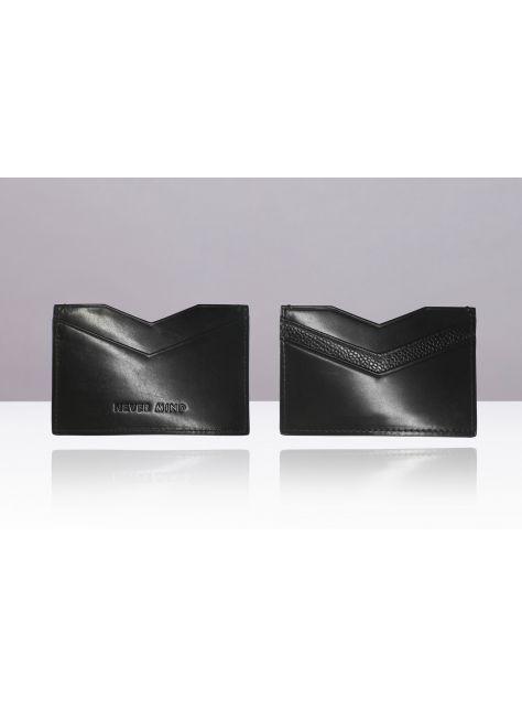 NEVER MIND-card holder 個性名片卡夾-小牛皮-ARROW