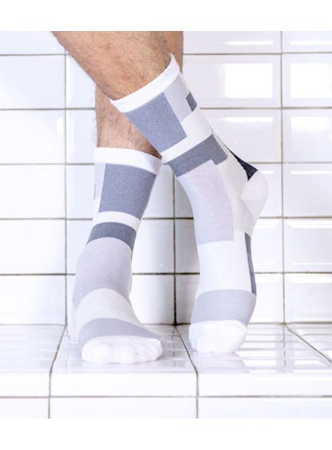 積木襪/黑