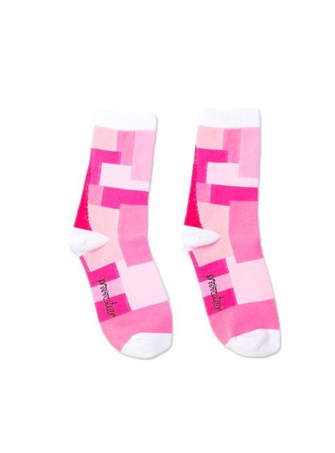 積木襪/紅