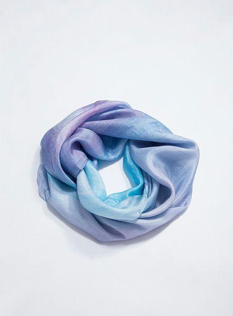 【FFLives x 黃格】 飄渺主義,真絲絲巾