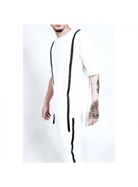 白色運動套裝-衣