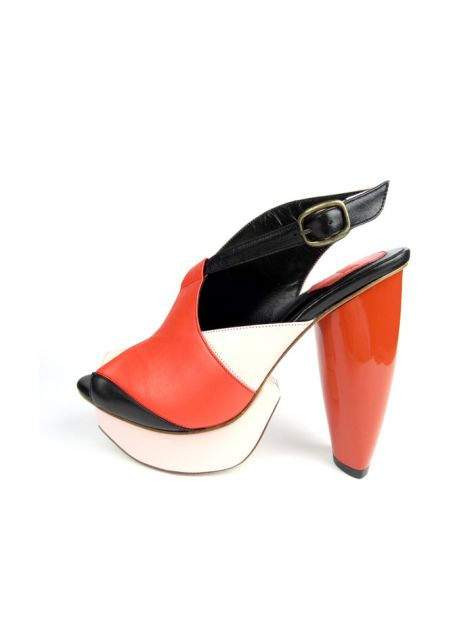 CLAVE [A Season for Murder] 謀殺高跟鞋REVENGE-RED 復仇-紅-Platform shoe