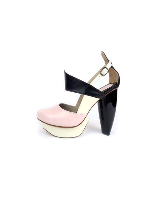 CLAVE [A Season for Murder] 謀殺高跟鞋DECLARE-Pink 宣示-粉-Platform shoe