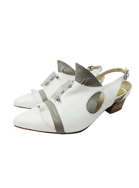 CLAVE [The Deep] 深海主題鞋Cliopsis-海天使-白/灰-特殊立體造型涼鞋