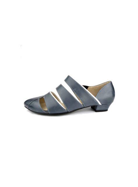 CLAVE [The Deep] 深海主題鞋Pannychia-發光海參-藍/白-夏日雙色涼鞋