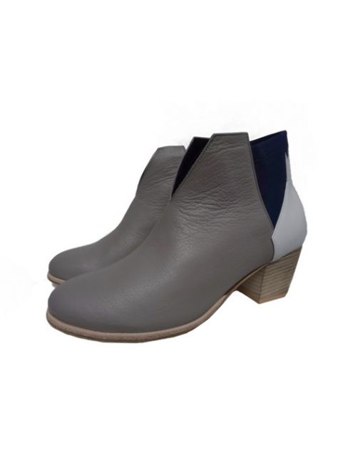 CLAVE [The Deep] 深海主題鞋Benthodesmus-叉尾深海帶魚-灰/白/藍-撞色踝靴