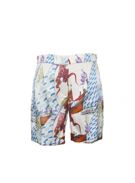 ŸŸ新世界系列印花短褲
