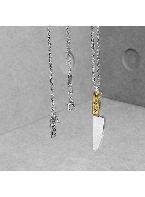 "2016 A/W - Solo Accessories X Pure design - "" The Knife Necklace """