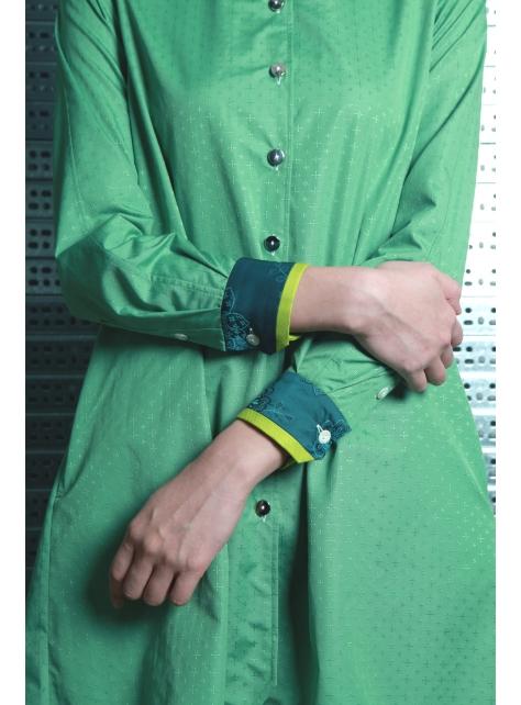 呂 - A LINE 襯衫型洋裝