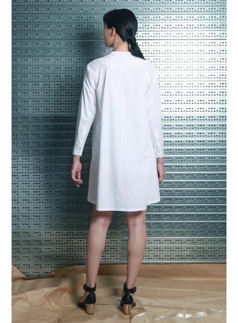 呂- A LINE 襯衫型洋裝