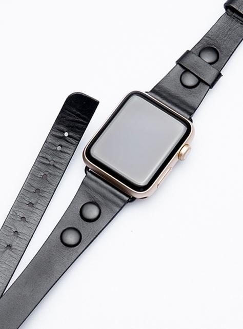 Rebecca Minkoff雙繞環Apple Watch真皮錶帶