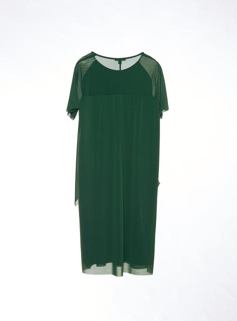 COS短袖多層次垂墜洋裝