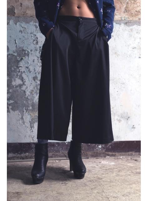 活摺九分大寬褲(162P04)