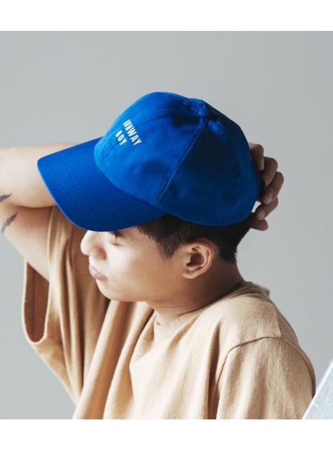 藍色 RUNWAY BOY 剌繡帽