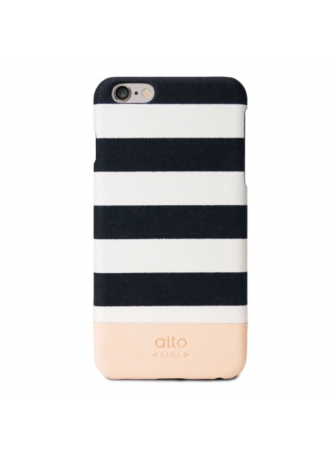 iPhone 6s Plus Denim Leather Case – White Zebra
