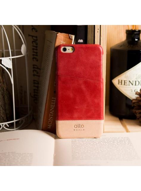 iPhone 6s Plus Metro Leather Case – Red / Original