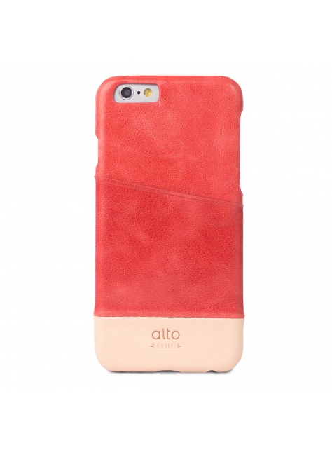 iPhone 6s Metro Leather Case – Red / Original