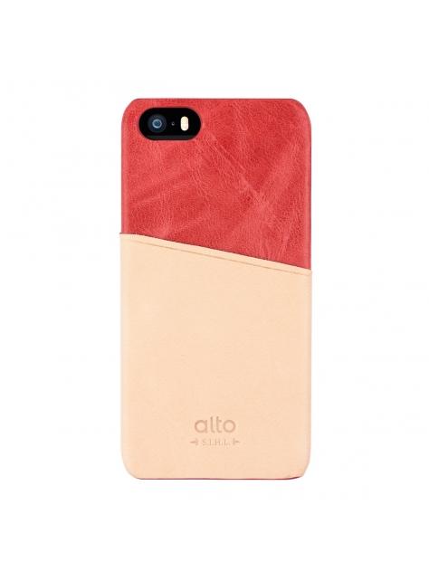 iPhone SE Metro Leather Case – Red / Original