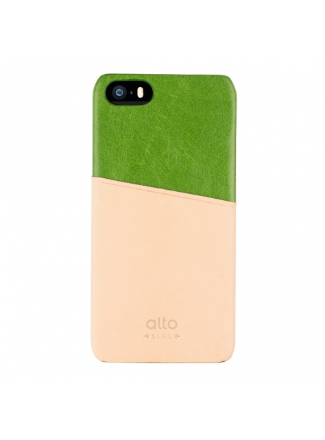 iPhone SE Metro Leather Case – Green / Original