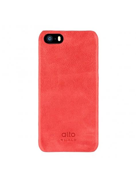 iPhone SE Original Leather Case – Red