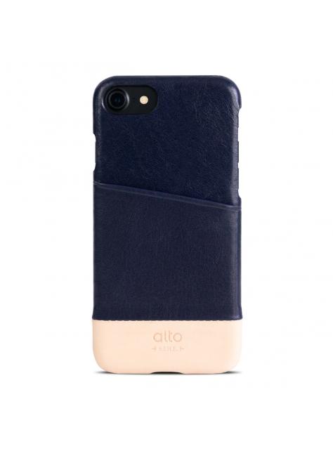 iPhone 7 Metro Leather Case – Navy / Original