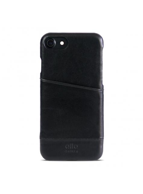 iPhone 7 Metro Leather Case – Raven