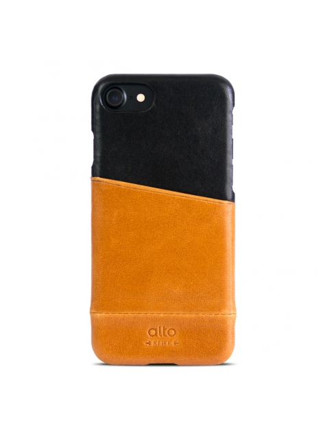 iPhone 7 Metro Leather Case – Caramel/Raven