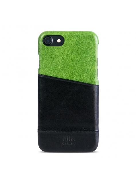 iPhone 7 Metro Leather Case – Lemon/Raven