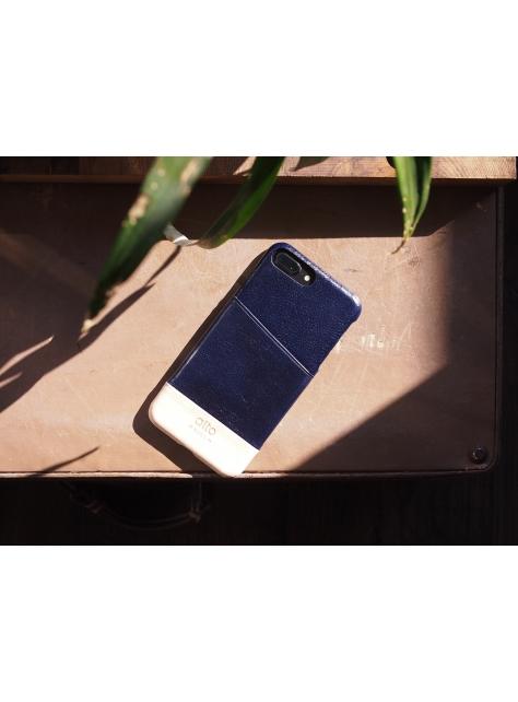 iPhone 7 Plus Metro Leather Case – Navy / Original