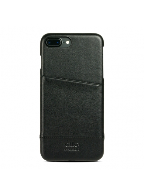 iPhone 7 Plus Metro Leather Case – Raven