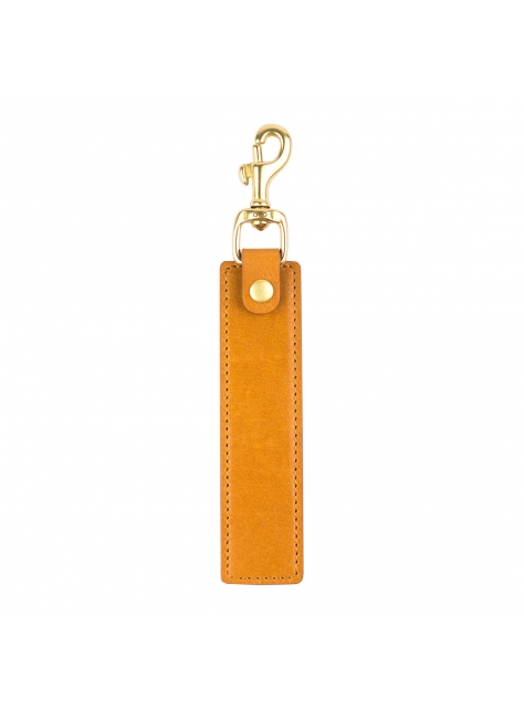 Leather Keychain Stand – Light Brown