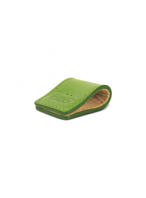 Leather Smart Holder – Green