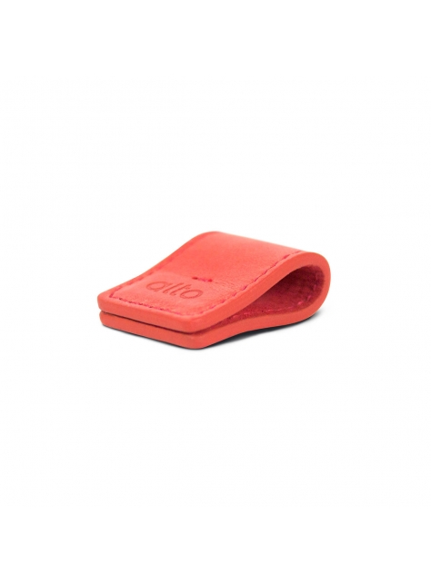 Leather Smart Holder – Red