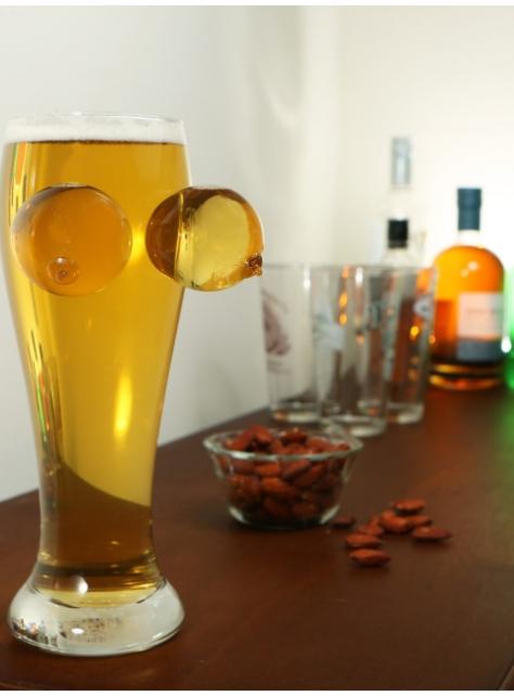 BIGMOUTH / BOOBIES & BREWSKIS BEER GLASS 波霸啤酒杯