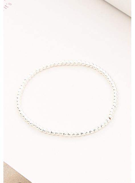 氣質簡約925純銀珠珠手鍊腳鍊