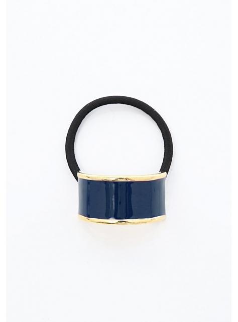 典雅純色半圓金邊琺瑯系列髮束