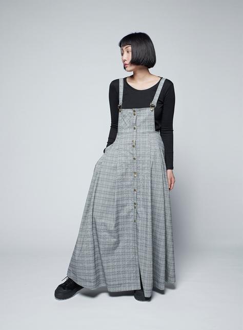 【FFLives x 賴羽】 波浪吊帶裙